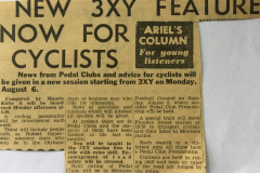 New 3XY Feature Now For Cyclists: 1950s