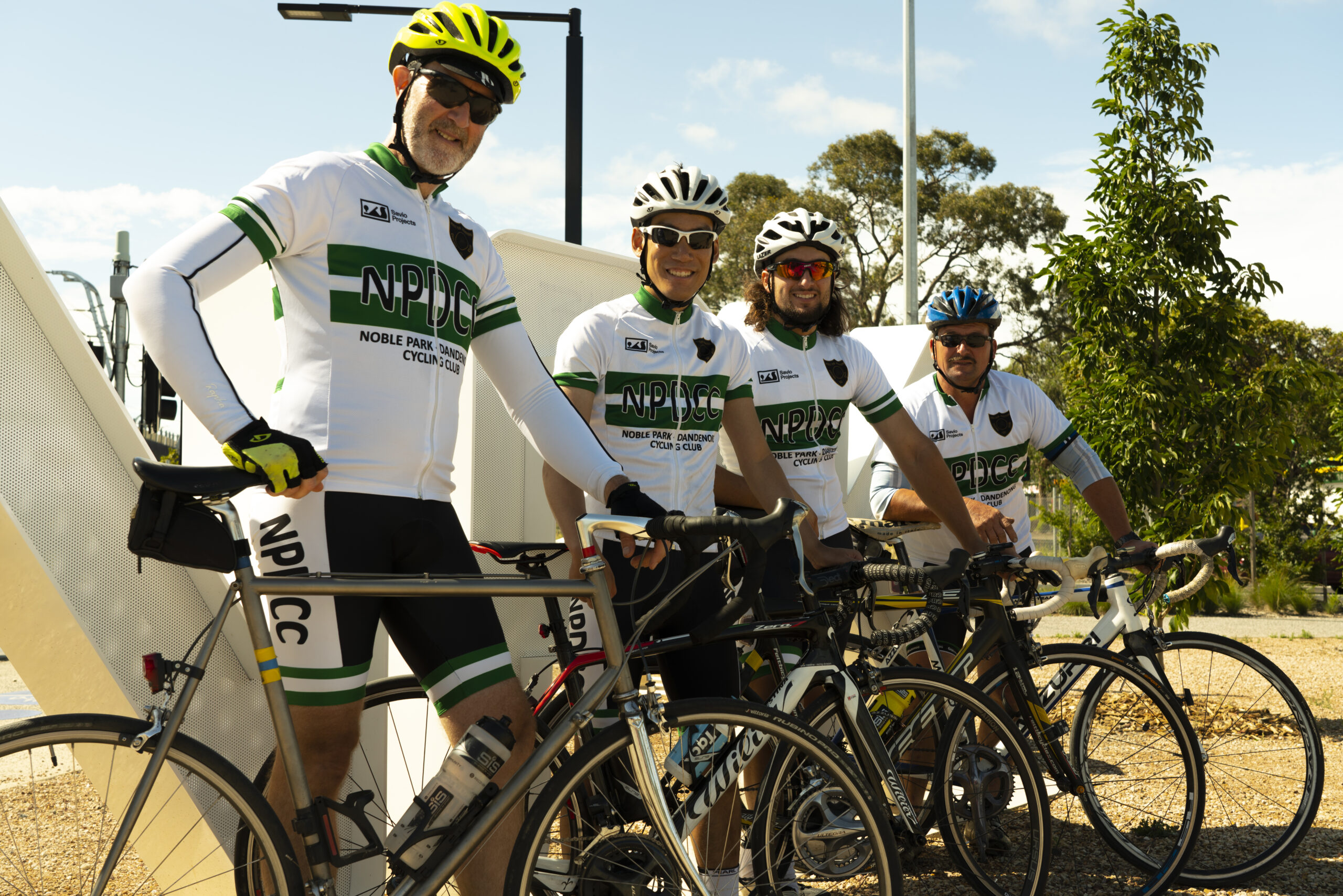 Noble Park Dandenong Cycling Club Team Kit