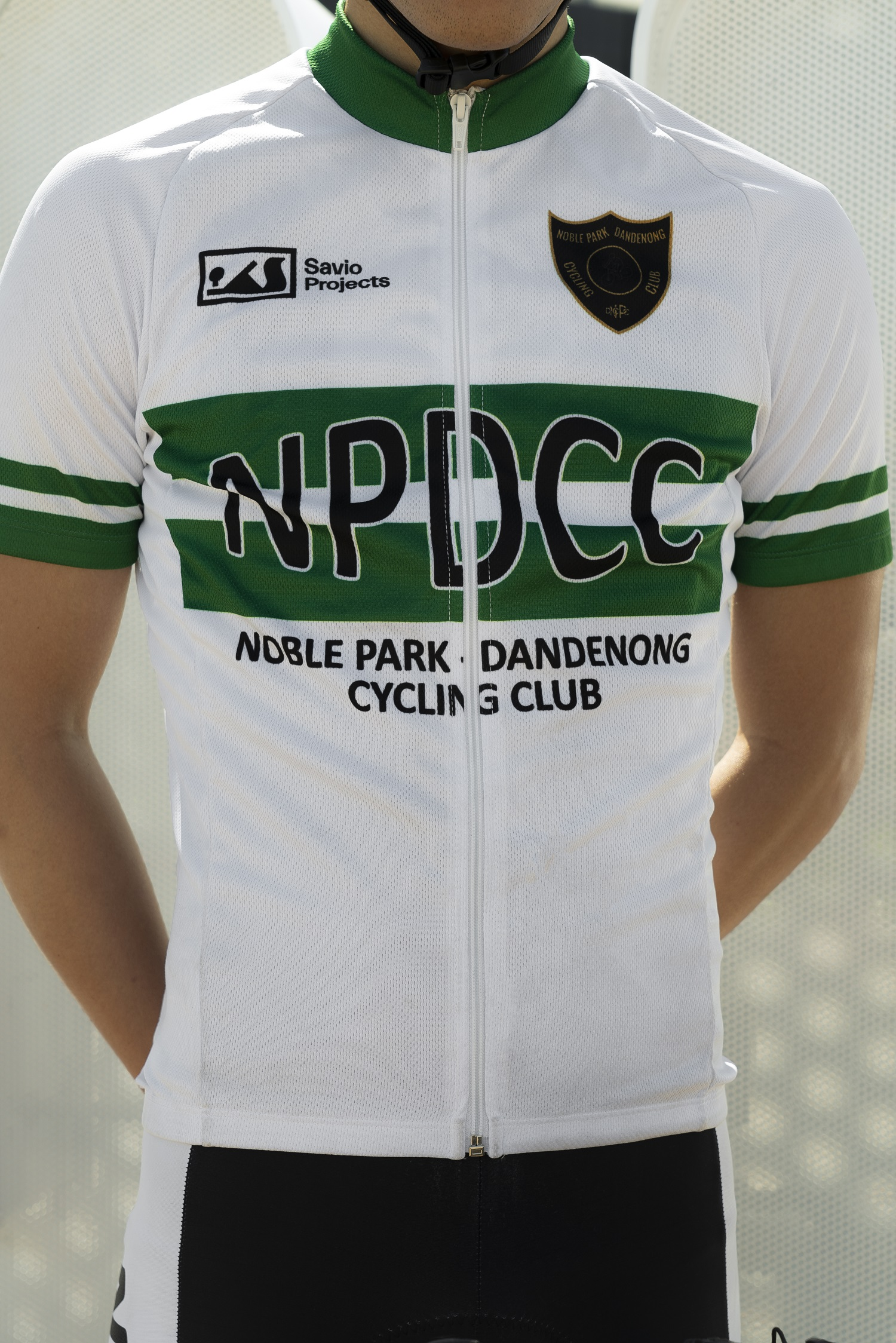 Noble Park Dandenong Cycling Club Jersey Front